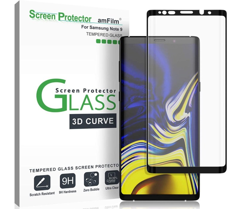 amFilm Full Cover Tempered Glass for Galaxy Note 9