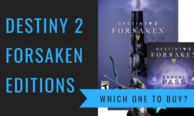 Which Destiny 2 Forsaken edition to buy?