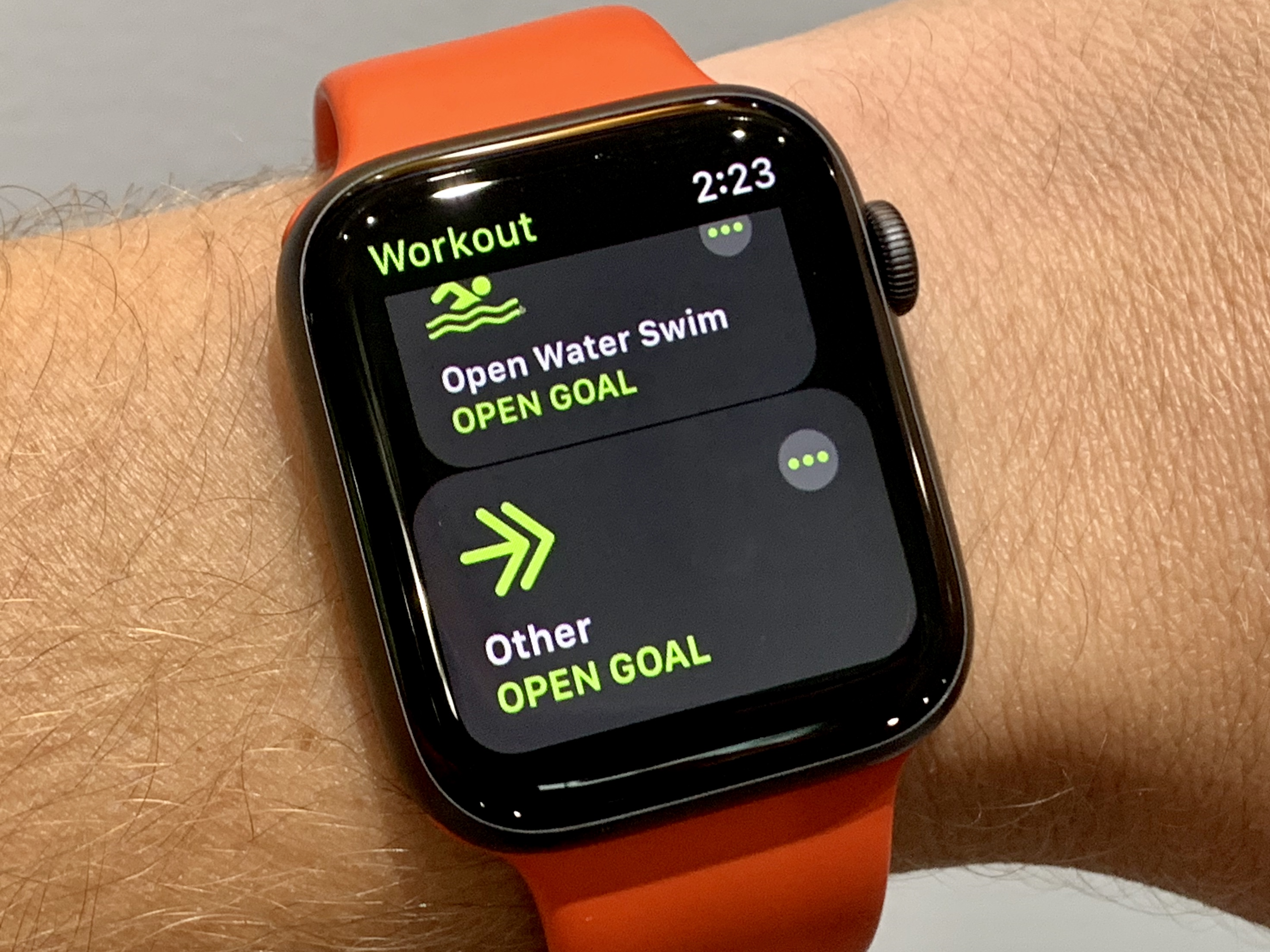 How to reset activity on apple watch series 3