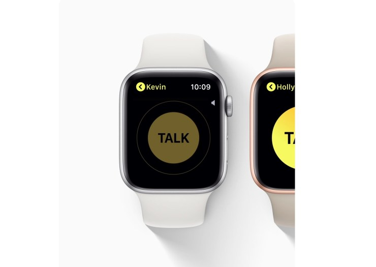 Install for the Apple Watch Walkie-Talkie Feature
