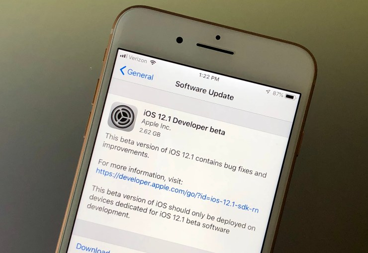 If you are already on iOS 12, you should use caution before upgrading to iOS 12.1 or iOS 12.0.1.