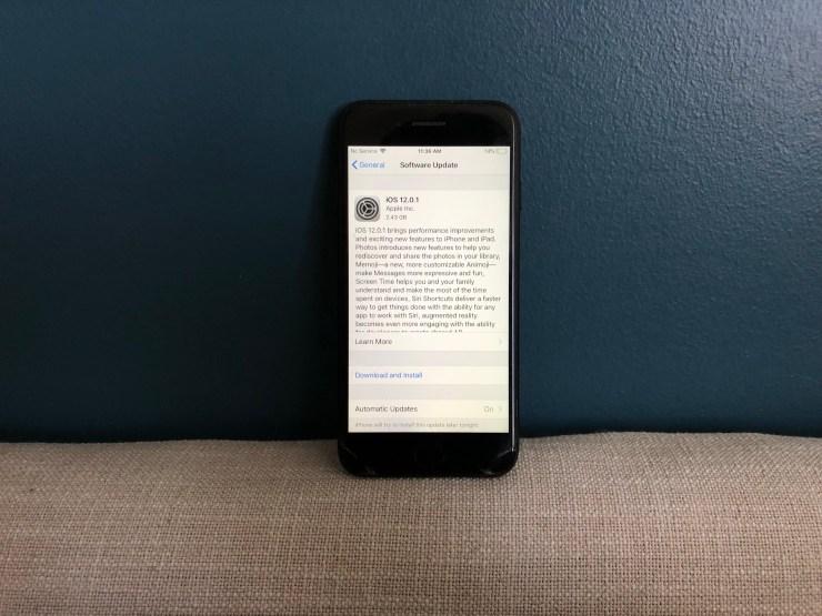 iPhone 7 iOS 12.0.1 Impressions & Performance