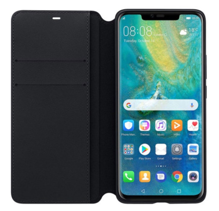 Official Huawei Mate 20 Pro Wallet Case