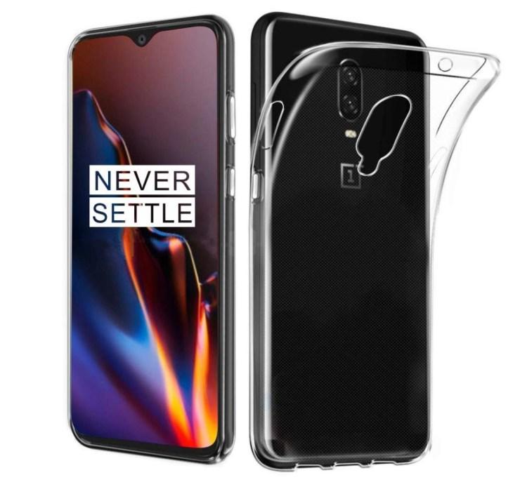 GETE OnePlus 6T Clear TPU Case ($6)