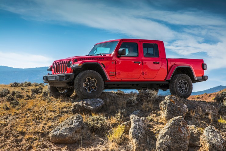 This is the 2020 Jeep Gladiator Rubicon.