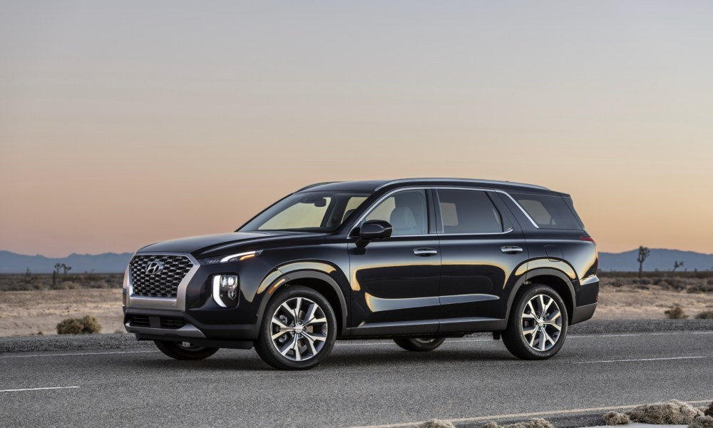 The new 2020 Hyundai Palisade.