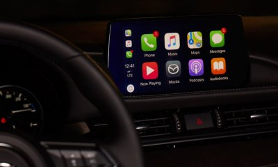 You can buy the Mazda Apple CarPlay retrofit kit now, for $199 plus labor.