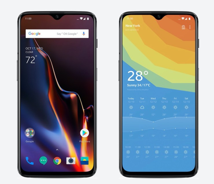 OnePlus 5T vs OnePlus 6T: Display