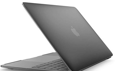 A cheap and great MacBook Air case with hardshell protection.