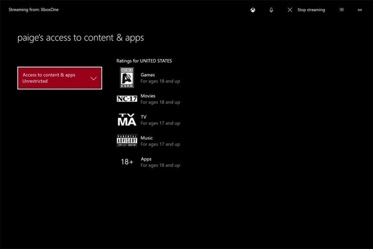 Set up Xbox One parental controls before you give it as a gift.