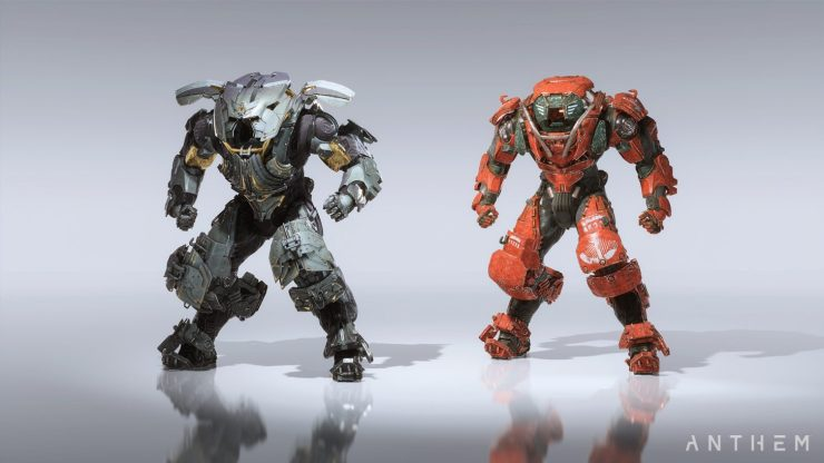 You can use two different types of Anthem Javelins.