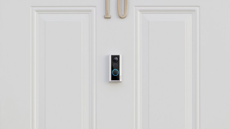 The Ring Door View Cam replaces your door viewer with a smart camera.