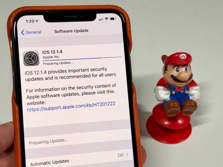 Install iOS 12.1.4 If You've Got Problems