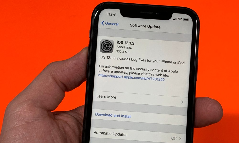 new iphone update issues 12.1