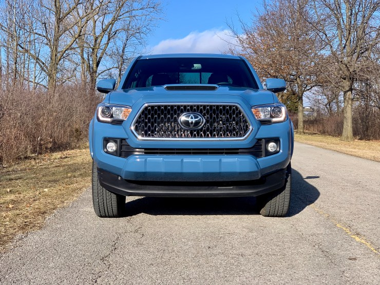The Tacoma design is bold and striking with a perfectly proportioned grille.
