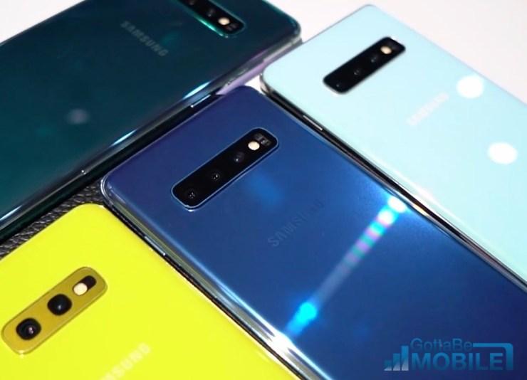 Galaxy S10+ vs Galaxy Note 9: Cameras