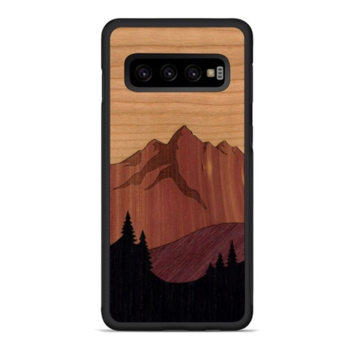 Carved Real Wood Cases