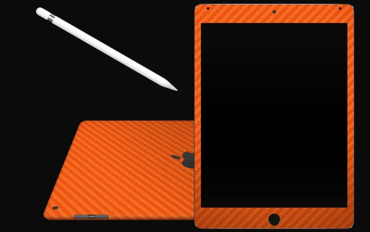Add a splash of color without any bulk with the dbrand iPad mini skin.