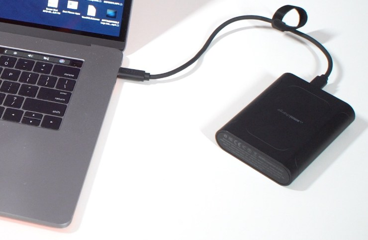Charge your MacBook Pro with the Omni Mobile 12,800mAh.