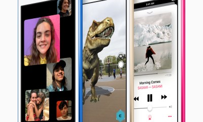 The new iPod touch is available today with more storage than ever.