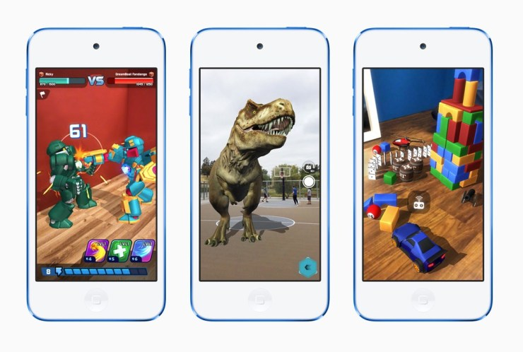 Augmented Reality support is the biggest new iPod Touch feature.