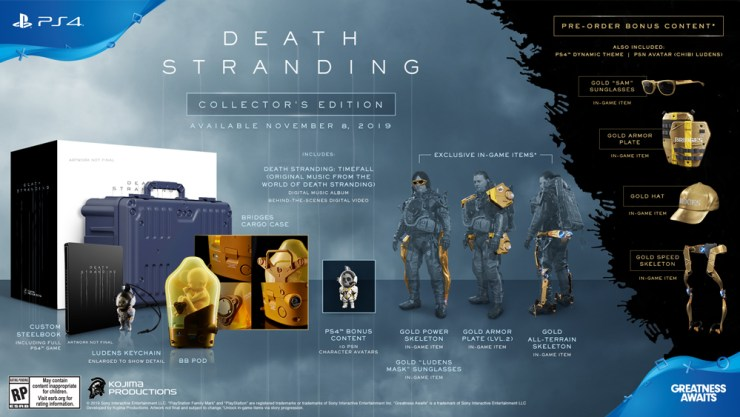 Pre-Order If You Want the Collector's Edition for $200