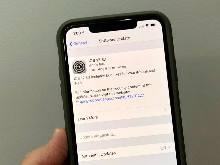 You Should Prepare for iOS 12.3.1