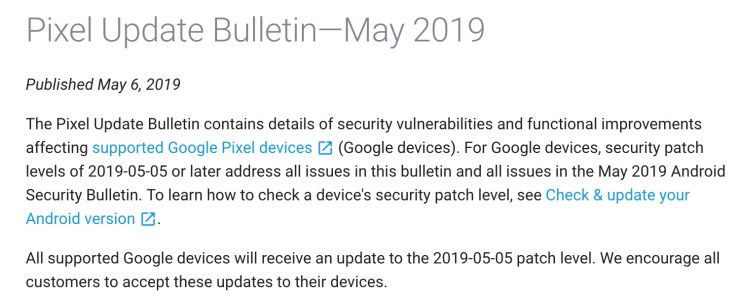 May Pixel Android 9 Pie Update: What to Know