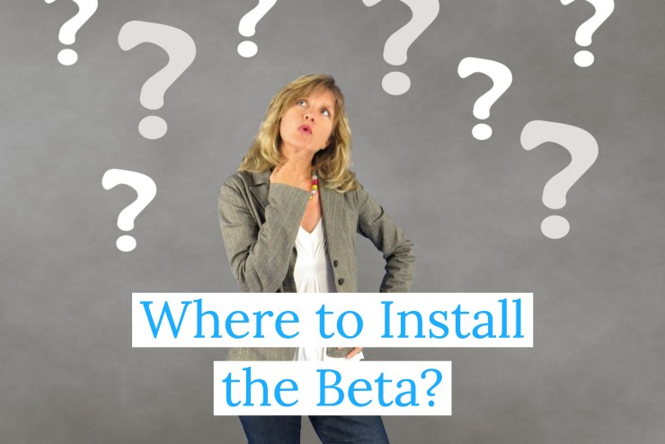 Decide Where You Are Installing