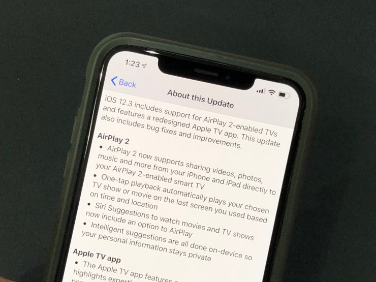 Install iOS 12.2 If You've Got Problems