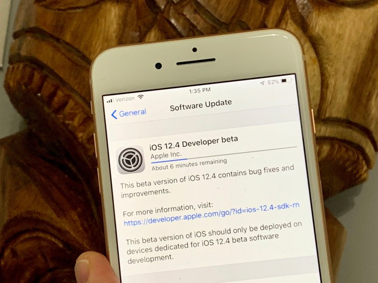 Prepare for the iOS 12.4 Release Date