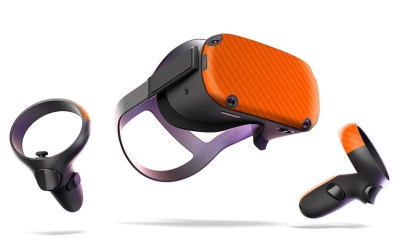 Add a skin to your Oculus Quest.