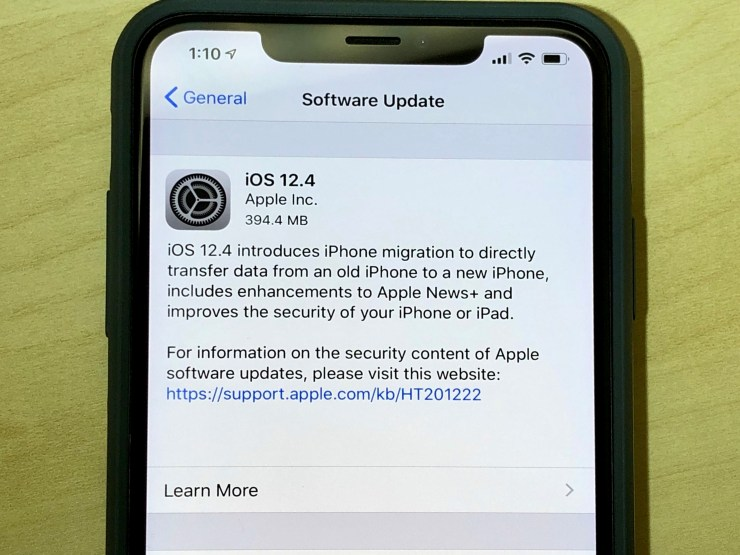 Here's How Long the iOS 12 4 Update Takes