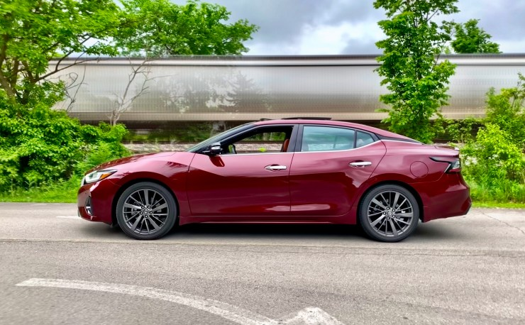 The 2019 Nissan Maxima is fun to drive and features a comfortable and luxurious interior.