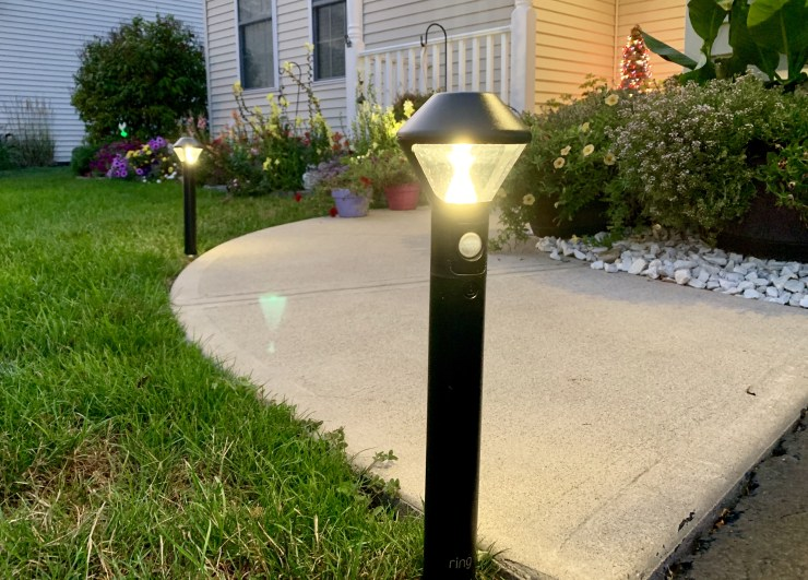 Add to your home security with Rng Pathlighs.