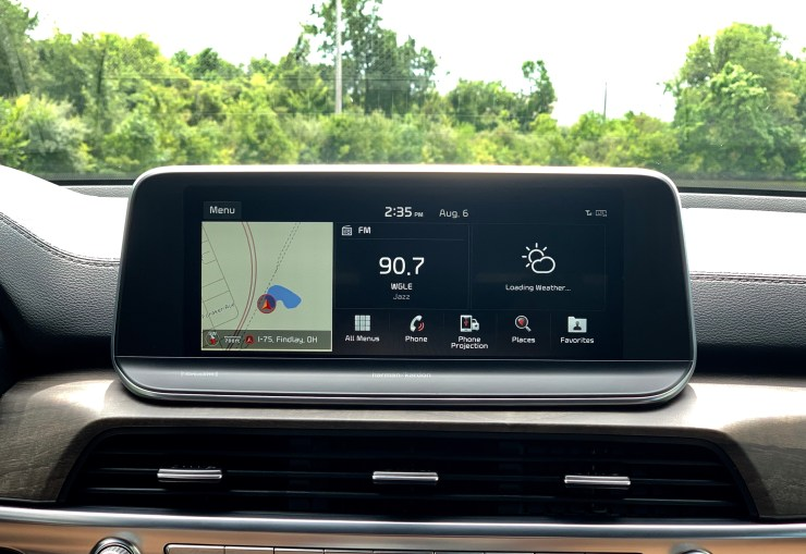 The infotainment system is great and supports Apple CarPlay and Android Auto.