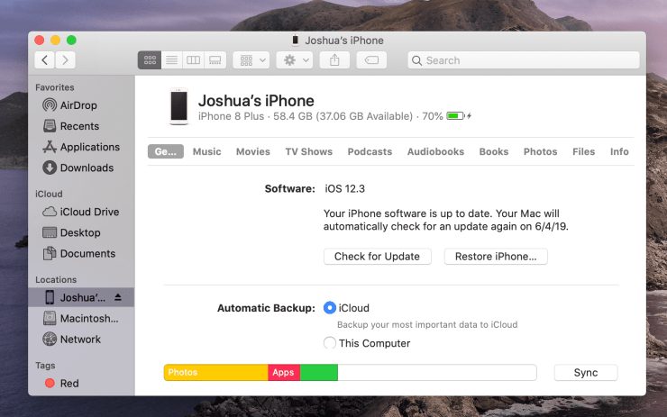 This is how you install the iOS 13 update from your Mac on macOS Catalina.