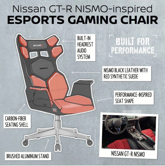 Admirable This Is What A Car Inspired Gaming Chair Should Really Look Like Creativecarmelina Interior Chair Design Creativecarmelinacom