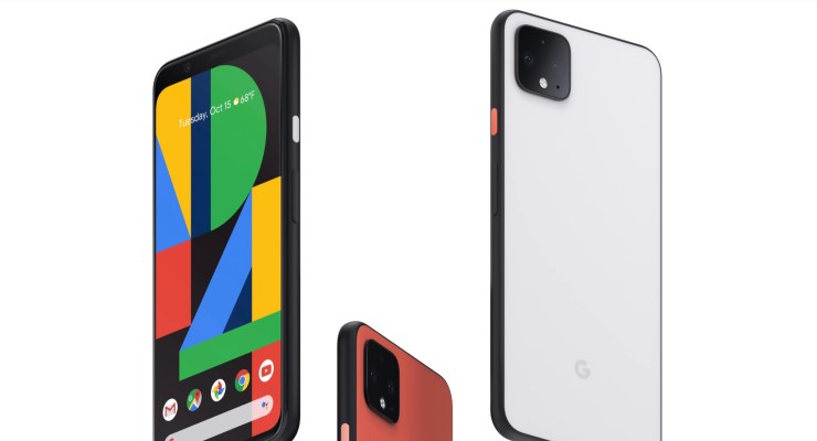 Galaxy Note 10 vs Pixel 4 XL: Design