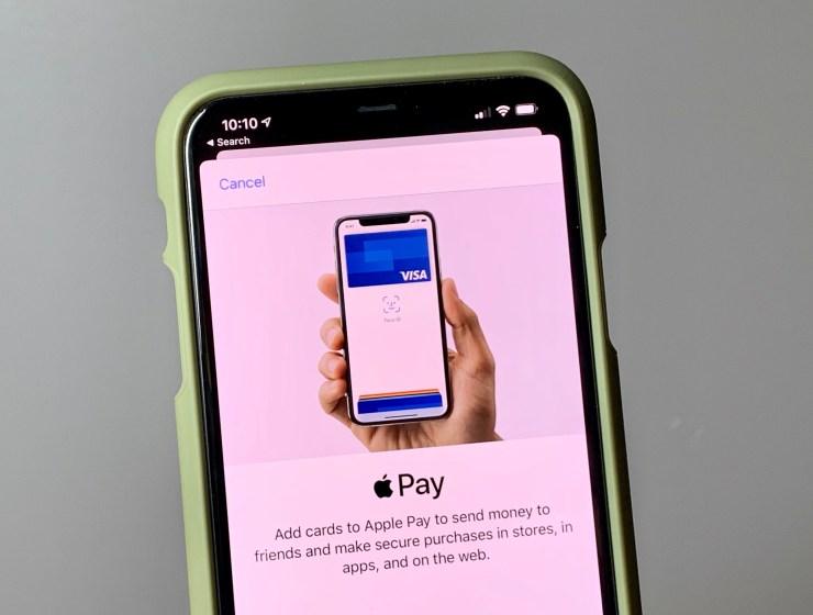 Set up Apple Pay so you have payment options always on hand.