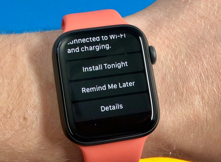 The watchOS 6.0.1 update is compatible with all devices already on watchOS 6.