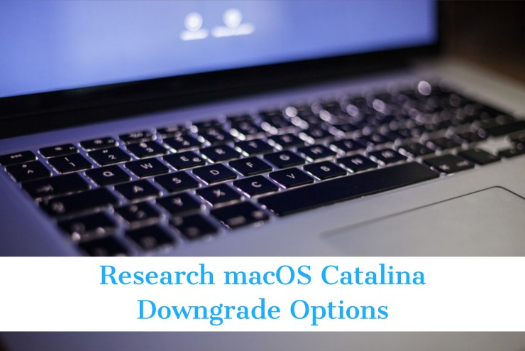 Learn About themacOS Catalina to Mojave Downgrade Options