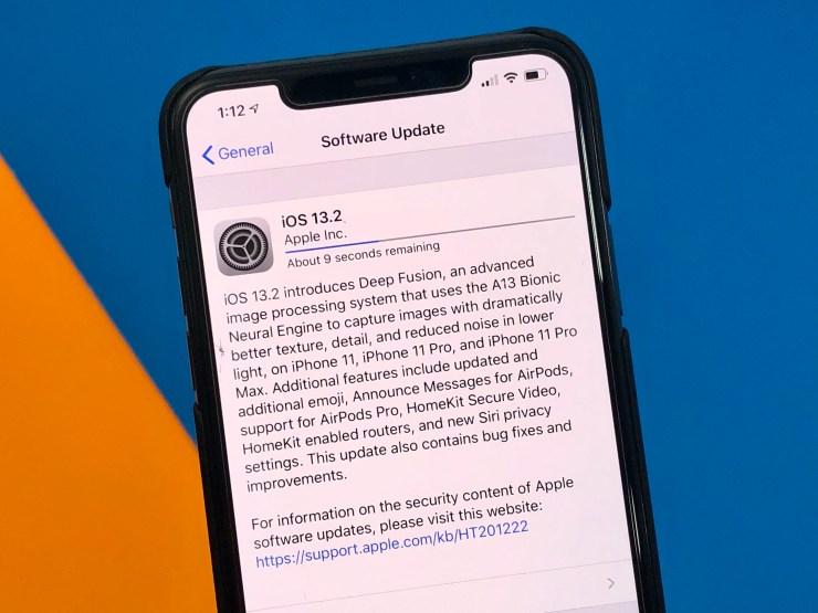 Установите iOS 13.2 для лучшей безопасности