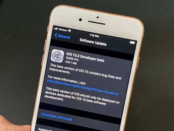 Most People Should Avoid the iOS 13.3 Beta