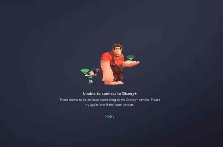 How to fix the Disney+ Unable to Connect error.