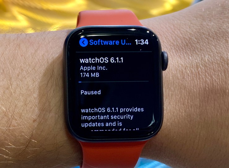 What you need to know about watchOS 6.1.1.