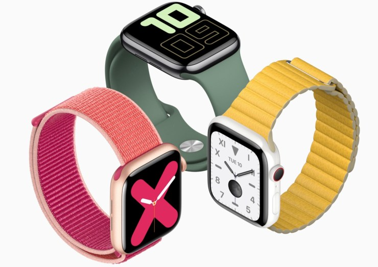 An Apple Watch lets your parents control smart home devices and it includes fall detection.