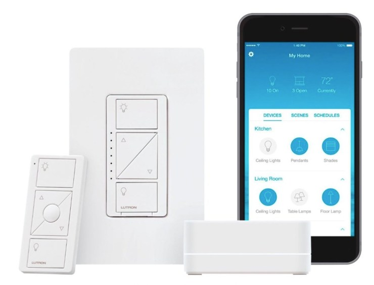 Smart light switches are a perfect smart home gift.