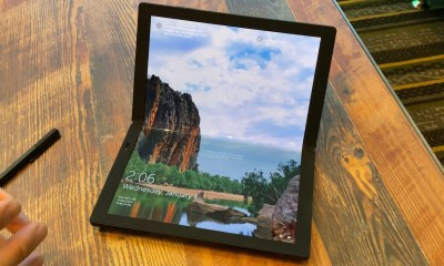 The ThinkPad X1 Fold is a foldable laptop and tablet.
