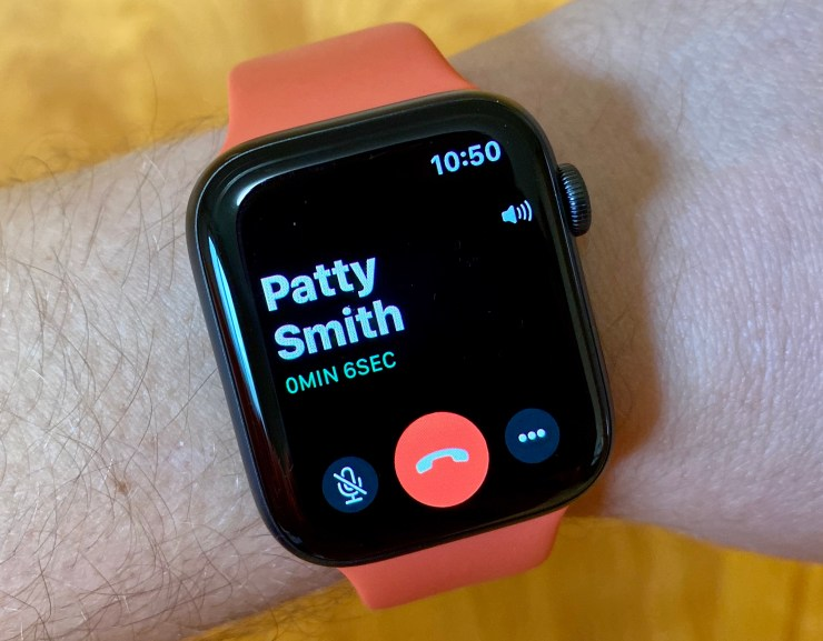 Answer Calls on the Apple Watch